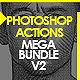 Handpicked Photoshop Actions Mega Bundle 2 - GraphicRiver Item for Sale