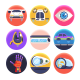 50 Future Technology Icons - GraphicRiver Item for Sale