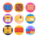50 Storage Icons - GraphicRiver Item for Sale