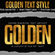 Golden Text Effect - GraphicRiver Item for Sale