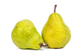 Two fresh pears on white background - PhotoDune Item for Sale