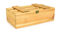 Closed wooden crate on white background - PhotoDune Item for Sale