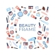 Beauty Products Frame - GraphicRiver Item for Sale