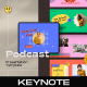 Podcast Keynote Template - GraphicRiver Item for Sale