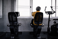 Elderly men are exercising in the gym. - PhotoDune Item for Sale