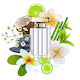 Vector Fragrance with White Flower - GraphicRiver Item for Sale
