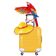Vector Travel Concept with Welcoming Parrot - GraphicRiver Item for Sale