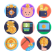 50 Bitcoin 1 Icons - GraphicRiver Item for Sale