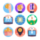 50 Bitcoin Icons - GraphicRiver Item for Sale