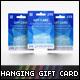 Hanging Gift Card Mock-up - GraphicRiver Item for Sale