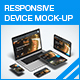 Responsive Device Mock-up - GraphicRiver Item for Sale