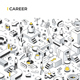 Career Isometric Illustration - GraphicRiver Item for Sale