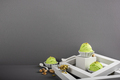 Scoop of homemade pistachio ice cream - PhotoDune Item for Sale