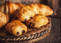 Freshly baked sweet buns puff pastry - PhotoDune Item for Sale