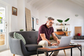 Mid adult business man working from home - PhotoDune Item for Sale