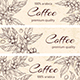 Horizontal Backgrounds with Coffee Plants - GraphicRiver Item for Sale