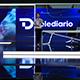 D Telediario News Studio - 3DOcean Item for Sale