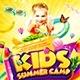 Kids Summer Camp Flyer vol.2 - GraphicRiver Item for Sale