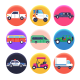 50 Cars Icons - GraphicRiver Item for Sale