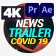 Coronavirus Covid-19 - News Trailer - VideoHive Item for Sale