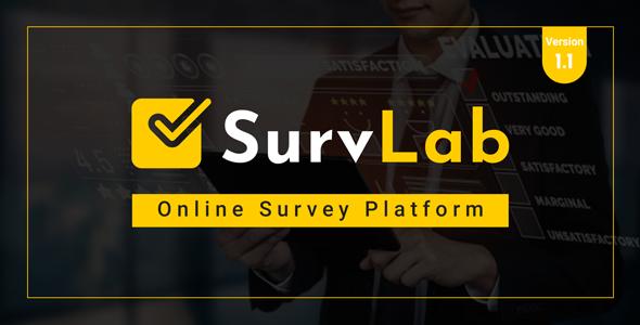 SurvLab - Online Survey Platform