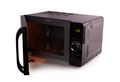 Black microwave isolated on a white background - PhotoDune Item for Sale