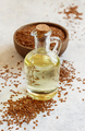 Raw Flax seeds oil and seeds - PhotoDune Item for Sale