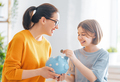 women calculating family budget - PhotoDune Item for Sale