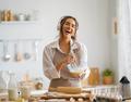 woman is preparing bakery. - PhotoDune Item for Sale