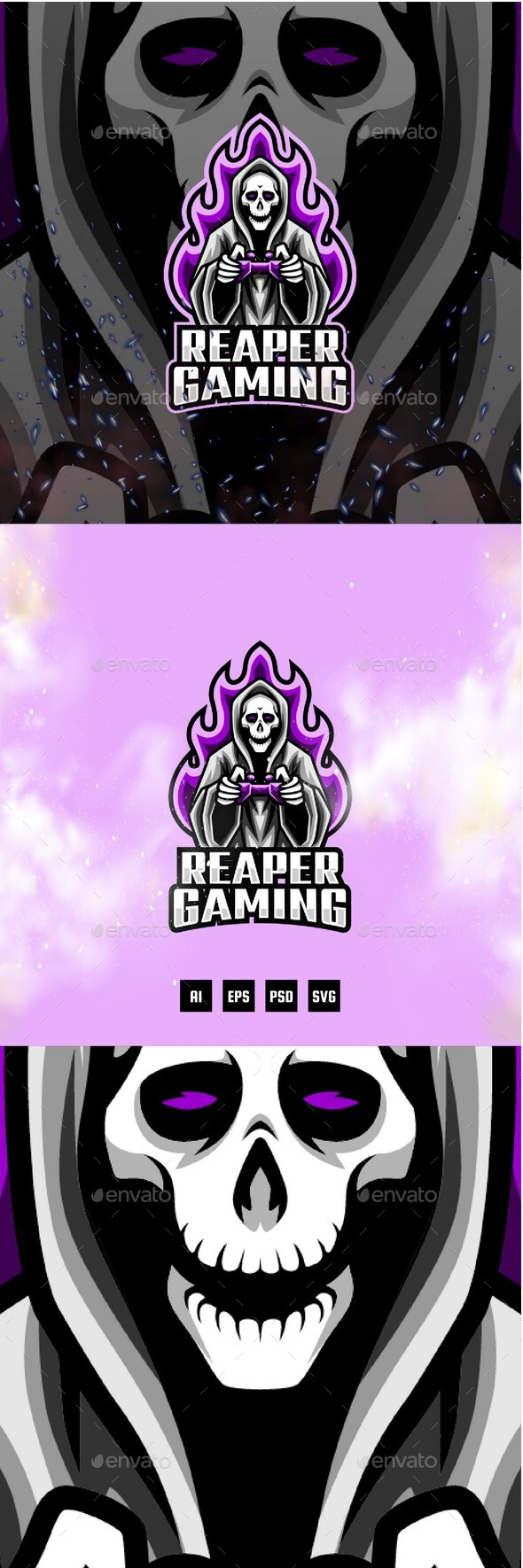 Reaper E-Sport and Sport Logo Template
