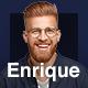 Enrique – Personal CV/Resume & Portfolio Elementor Template Kit - ThemeForest Item for Sale