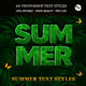 Summer Text Styles - GraphicRiver Item for Sale