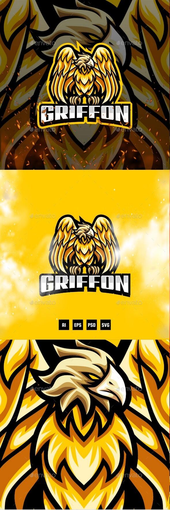 Griffon E-Sport and Sport Logo Template