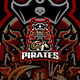 Pirates E-Sport and Sport Logo Template - GraphicRiver Item for Sale