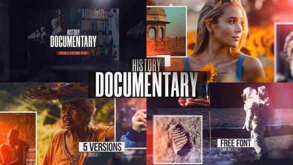 History Documentary Slideshow