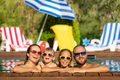 Happy family having fun on summer vacation - PhotoDune Item for Sale