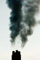 Industrial pollution chimneys black smoke emission - PhotoDune Item for Sale