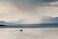 Rain shower over Marsh Lake Yukon Territory Canda - PhotoDune Item for Sale