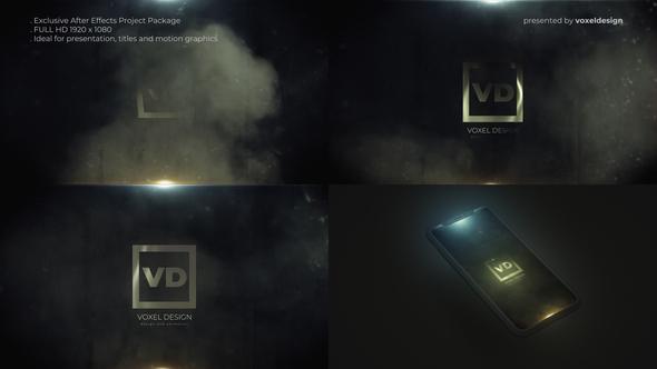 Steam Smoke Logo Reveal