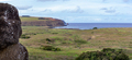 Easter Island Landscape. View frot seated moai to Tongariki - PhotoDune Item for Sale