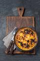 Latin American Corn pie. Chilean Pastel de Choclo in clay bowl - PhotoDune Item for Sale