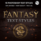 Epic Fantasy Text Styles - GraphicRiver Item for Sale