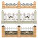 Vector Metal Fence Set 3 - GraphicRiver Item for Sale