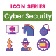 90 Cyber Security Icons   Wildberry Series - GraphicRiver Item for Sale