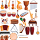 27 Musical Instruments Elements - GraphicRiver Item for Sale