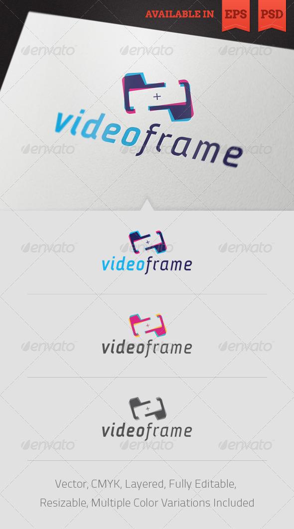 Video Frame Logo Template