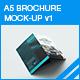 A5 Trifold Brochure Mock-up v1 - GraphicRiver Item for Sale