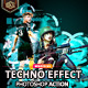 Techno Effect Photoshop Action
