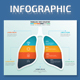 Lung Infographics design - GraphicRiver Item for Sale