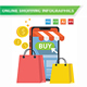 Online Shopping Infographics - GraphicRiver Item for Sale